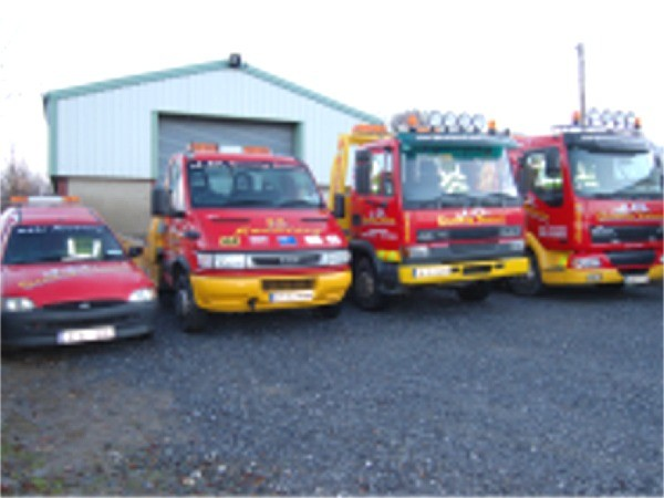 JD Recovery Services has a fleet of recovery vehicles available 24 hours a day throughout County Donegal, Ireland